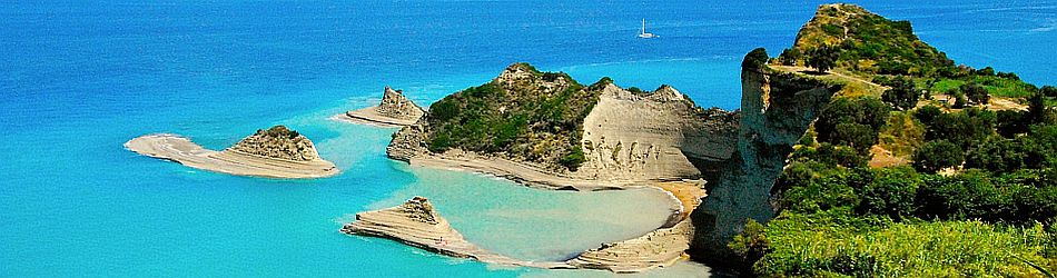 Sea Kayaking Excursions  in Corfu, Greece
